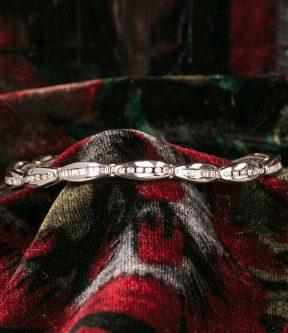 Diamond Tennis Link Bracelet