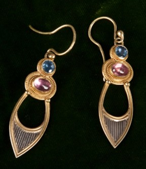 C. Woods Drop Earrings