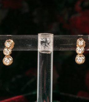 Gradated Diamond Earrings