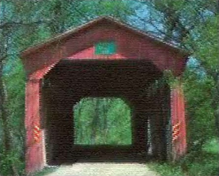 One of Annie's favorite Covered Bridges