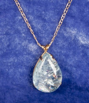 Aquamarine Collector's Stone Pendant