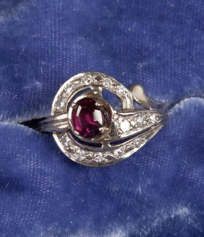 Fuschia Ruby Ring