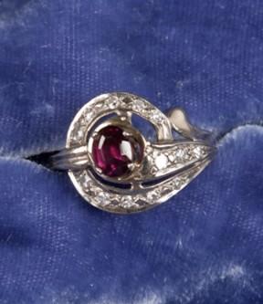 Fuschia Ruby Ring