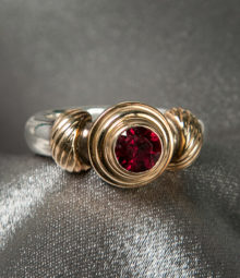 Garnet Eternity Ring