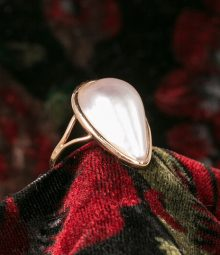 Mabé Pearl Ring