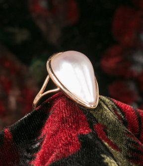 Mabé Pearl Ring